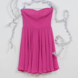 Guess  Strapless Gathered Skirt Party Dress